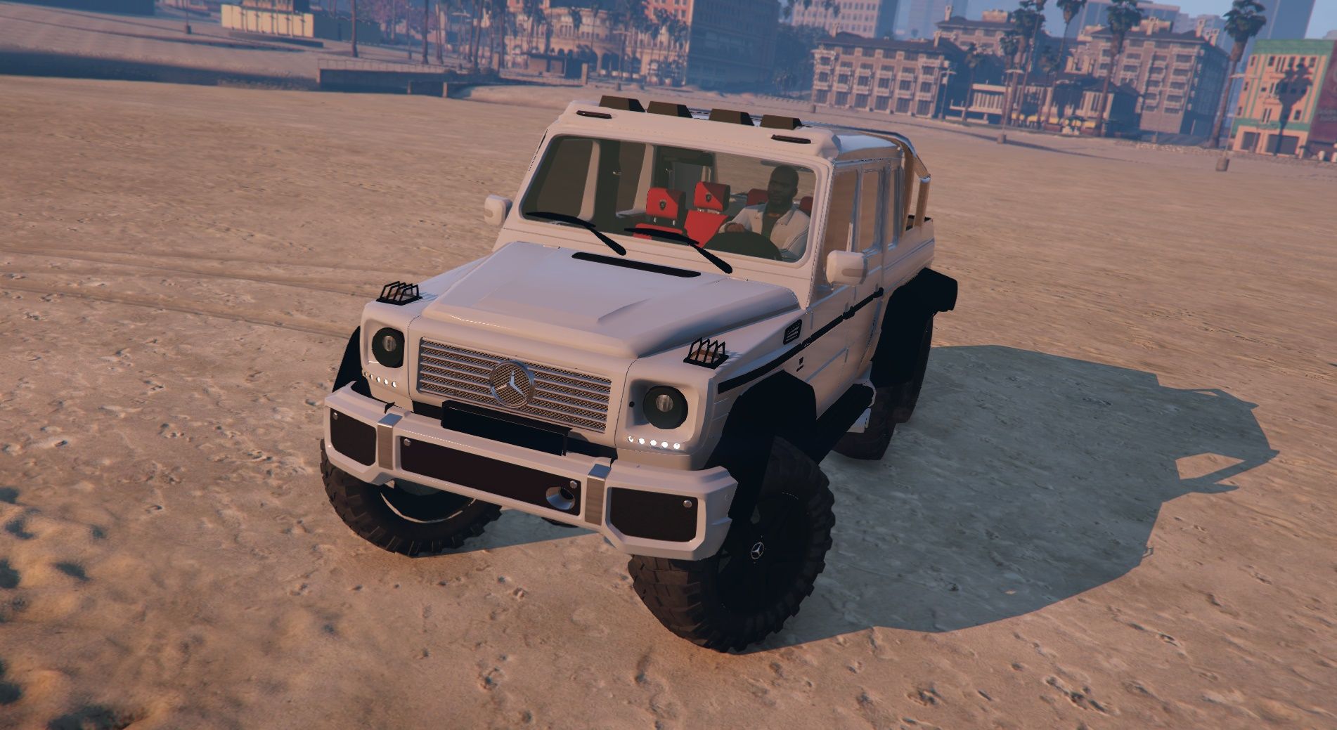Mercedes Benz G63 AMG 6x6 GTA5 Mods