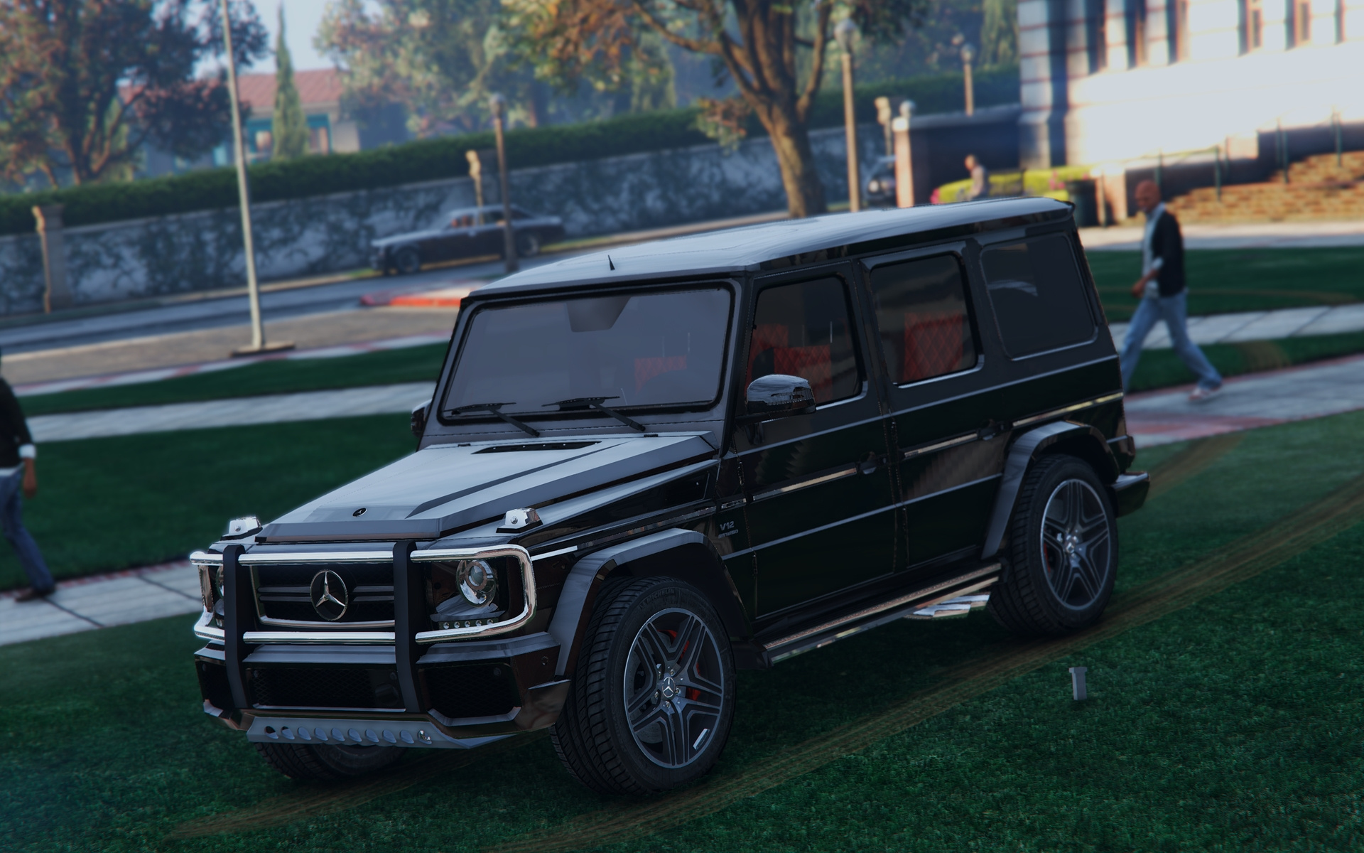 Mercedes benz g65 amg add on replace gta5 for Mercedes benz g65