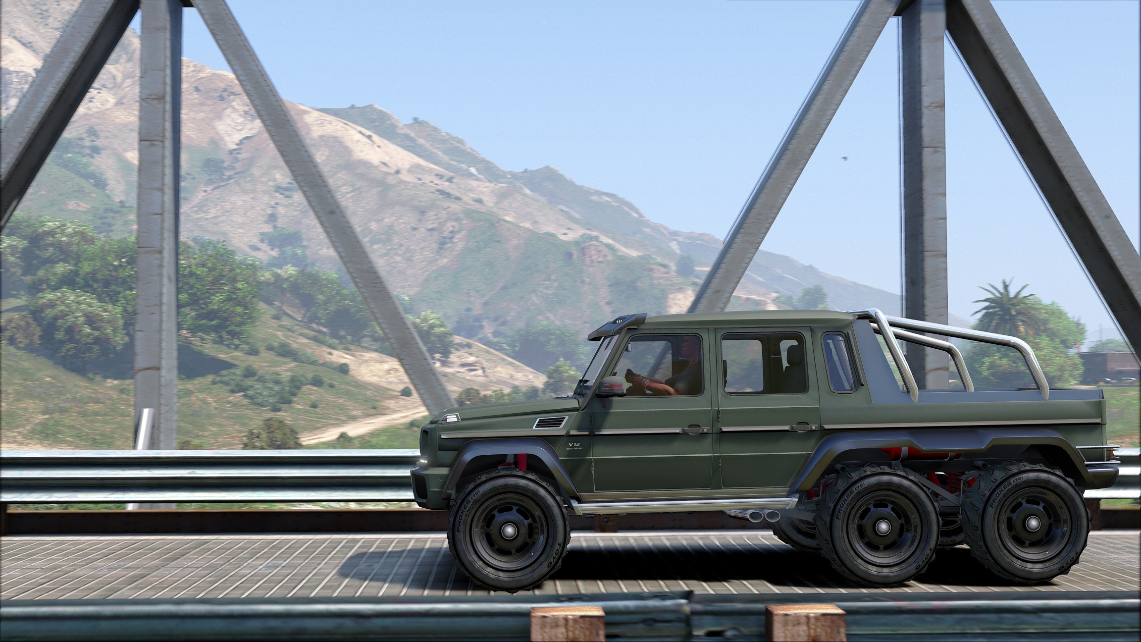 Mercedes Benz G65 6x6 Gta5 Mods Com