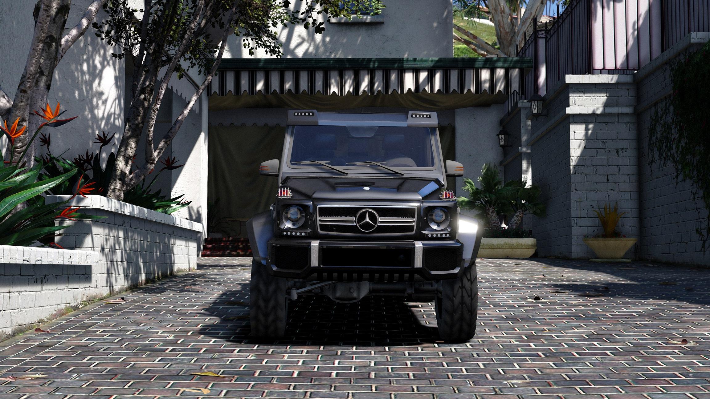G Wagon Maybach >> Mercedes-Benz G65 6x6 - GTA5-Mods.com