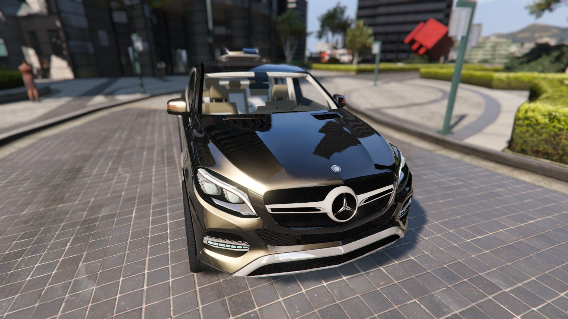 mercedes benz gle 450 4matic c292 gta5. Black Bedroom Furniture Sets. Home Design Ideas
