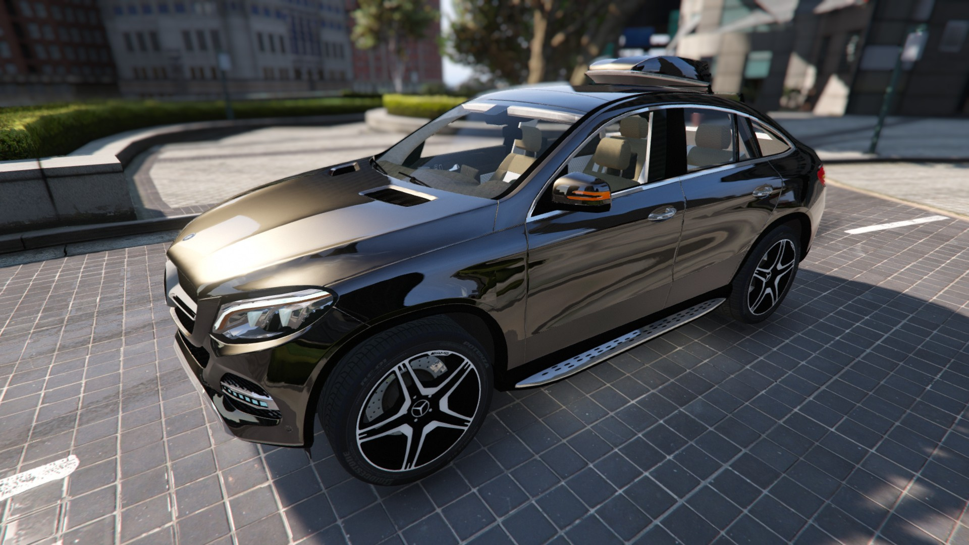 mercedes benz gle 450 4matic c292 gta5