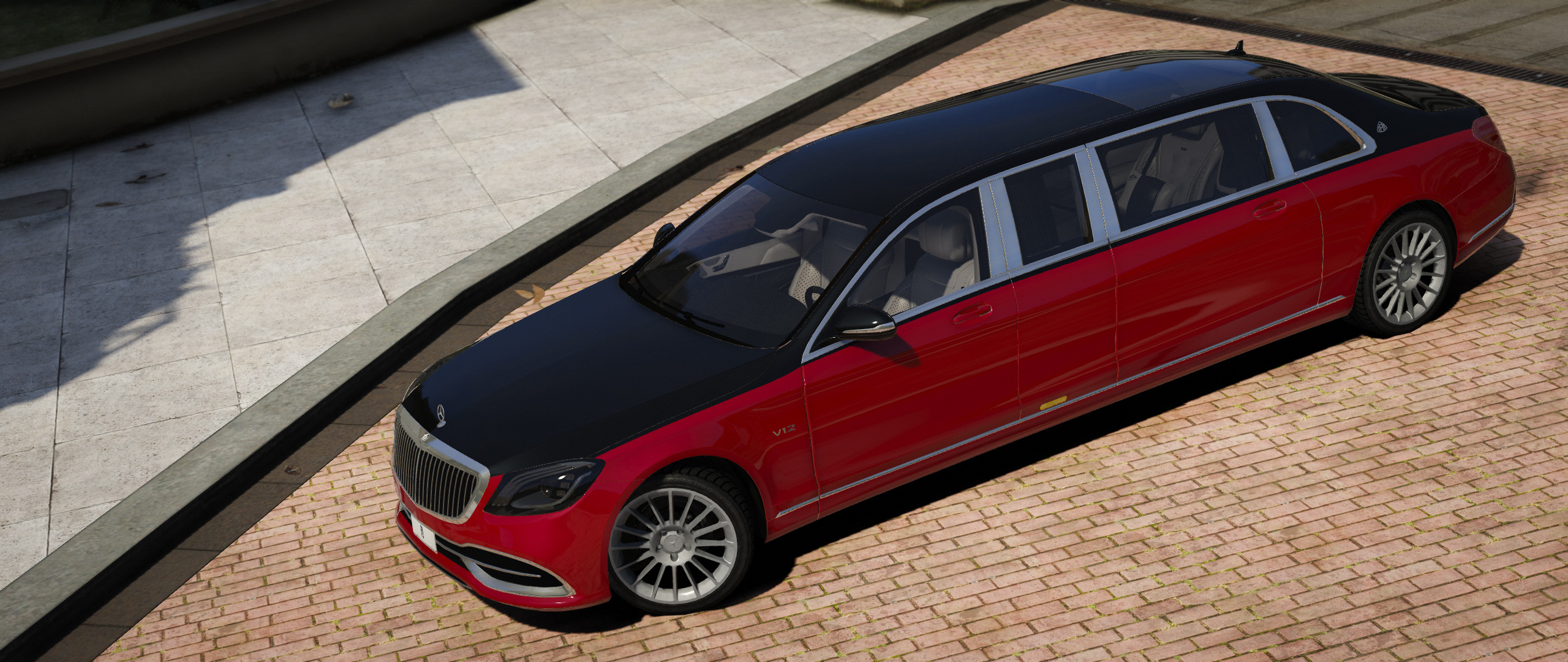 Mercedes Benz Maybach S600 Pullman Replace Gta5 Mods Com