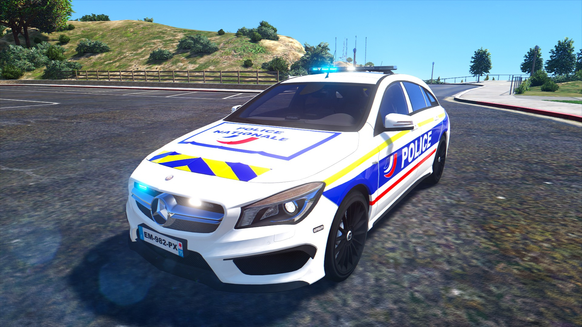Mercedes Benz Police Nationale Gta5 Mods Com