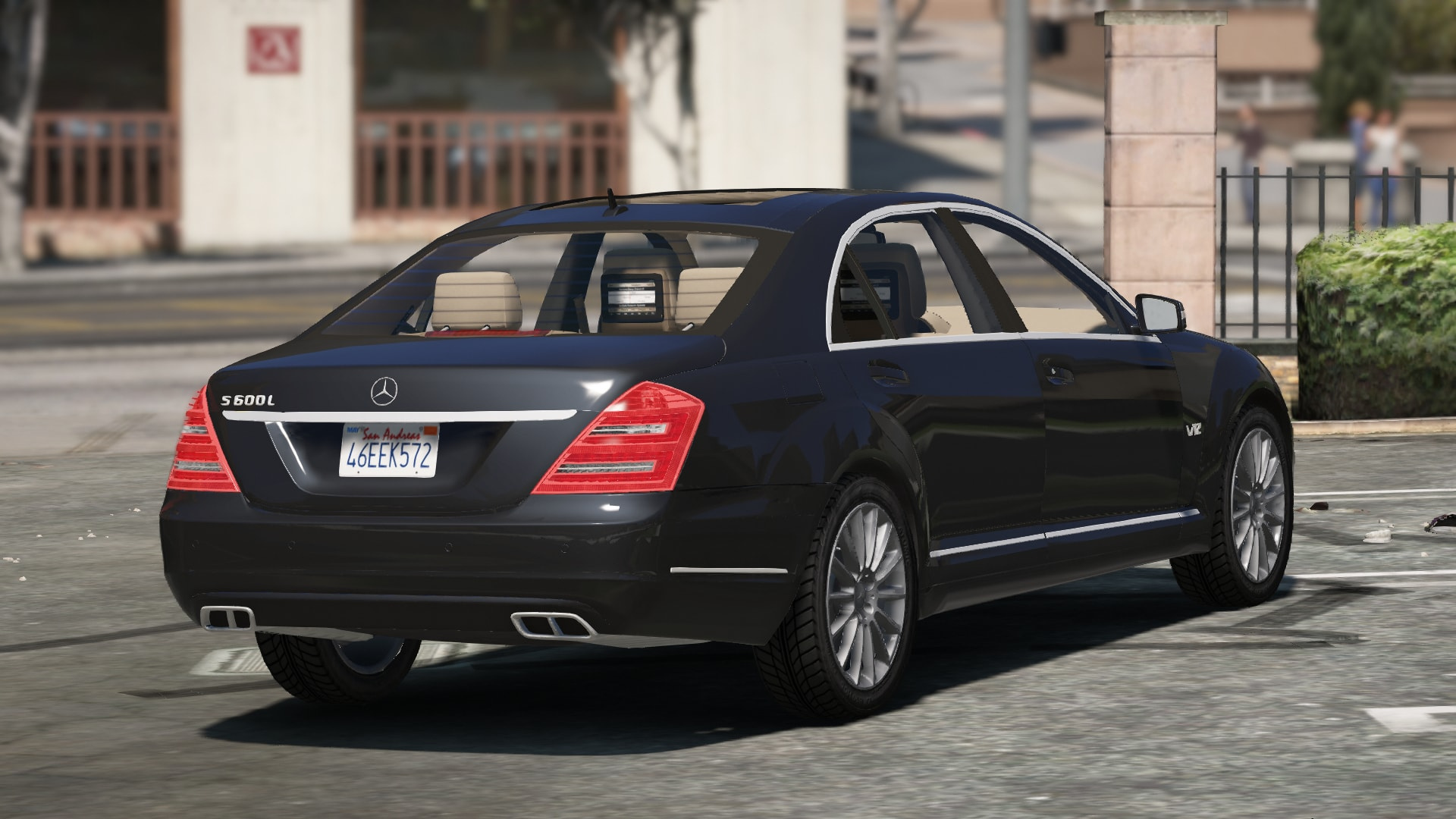 Mercedes benz s 600l 2011 gta5 for Mercedes benz gta