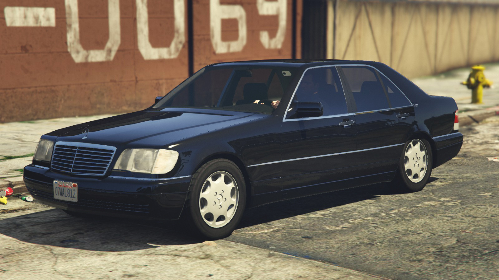 Mercedes benz s600 w140 add on replace gta5 for Mercedes benz add