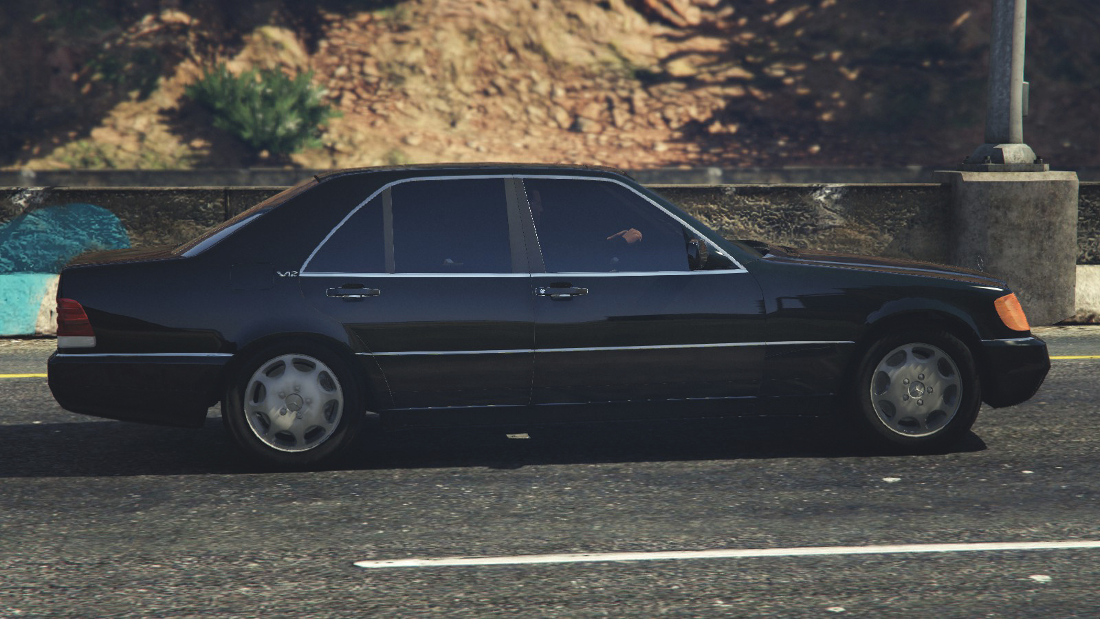 Mercedes benz 600 sel w140 add on replace gta5 for Mercedes benz add