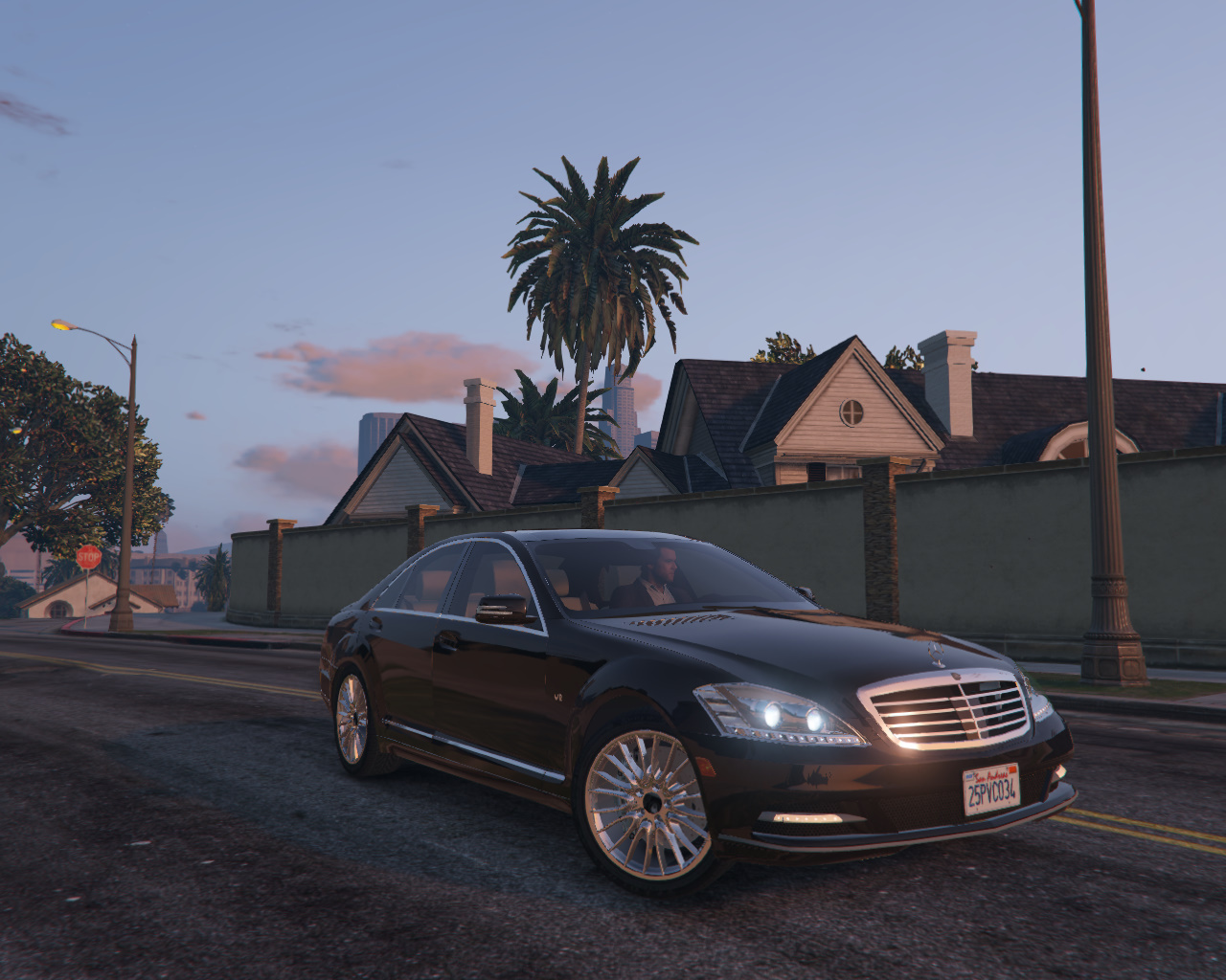 Mercedes benz s600 w221 2009 gta5 for 2009 mercedes benz s600