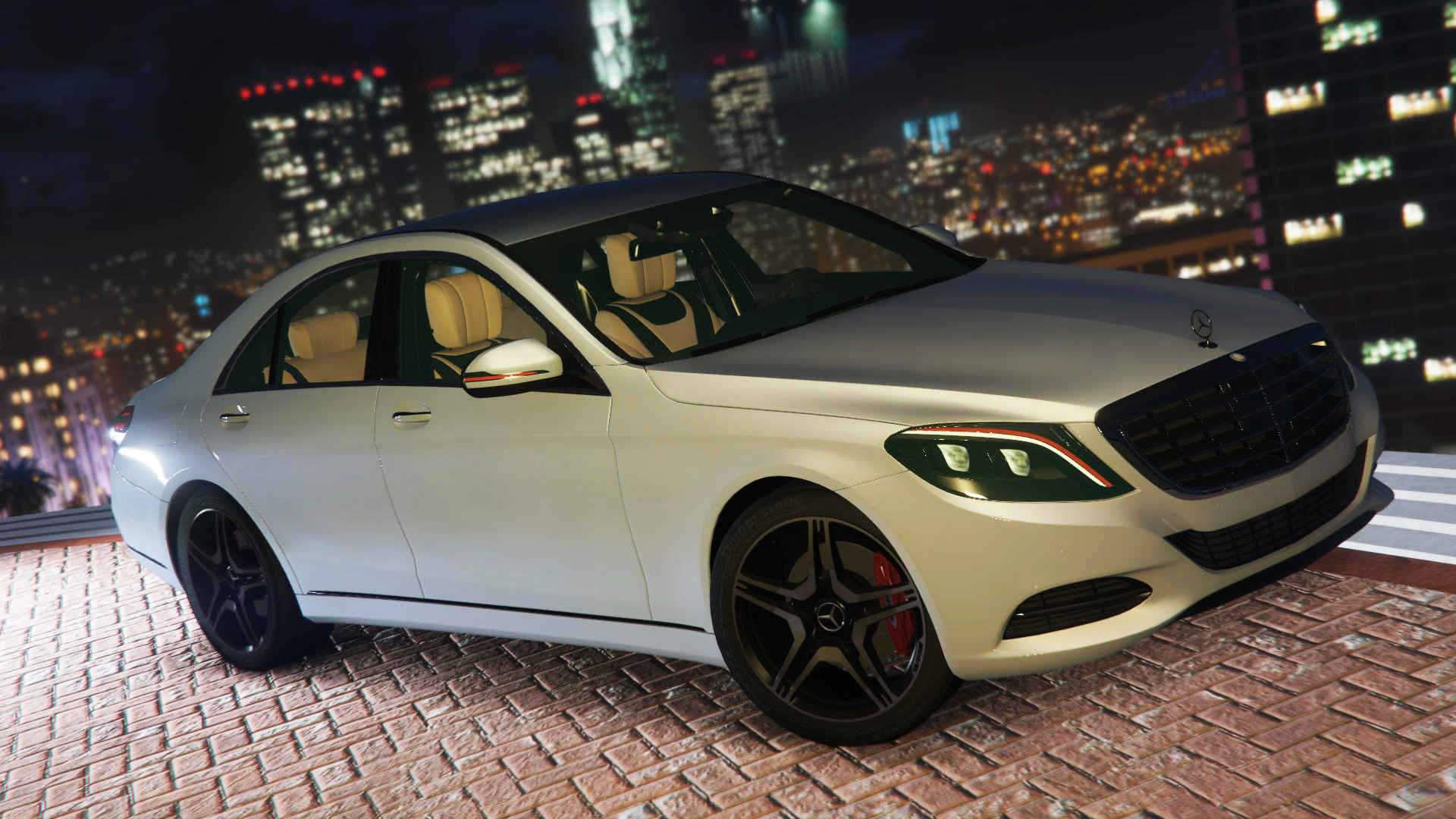 Mercedes benz s500 w222 add on replace gta5 for Mercedes benz gta