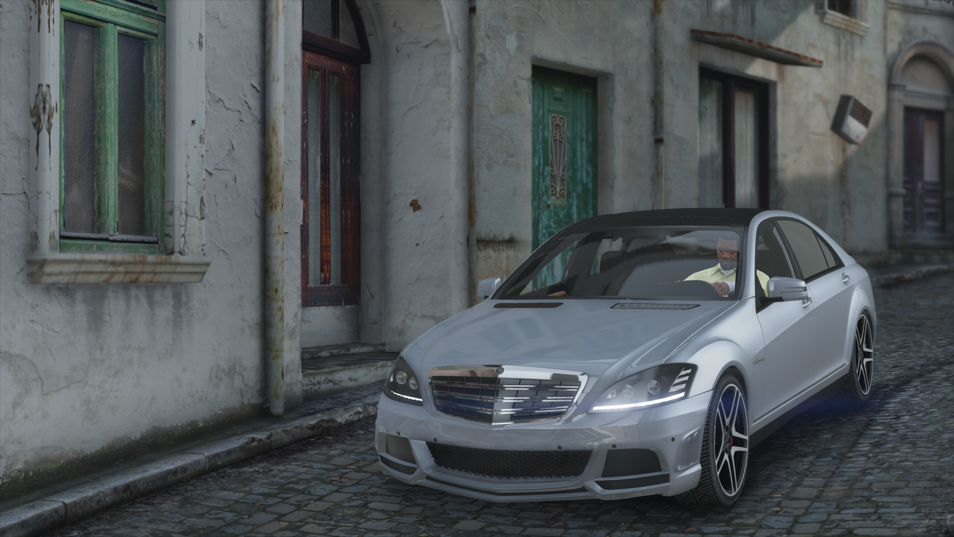 Mercedes Benz S65 Amg W221 Add On Replace Gta5