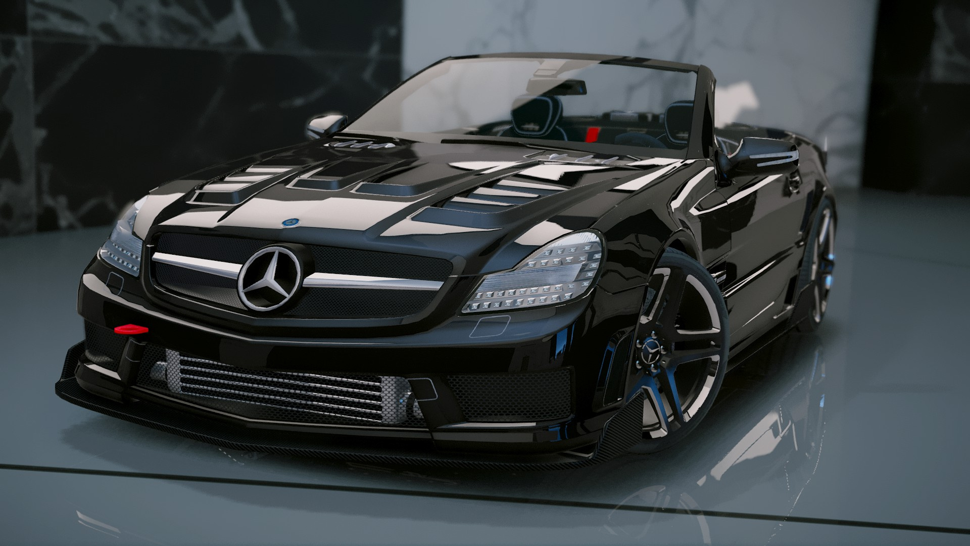 Mercedes benz sl 63 amg add on tuning gta5 for Mercedes benz sl550
