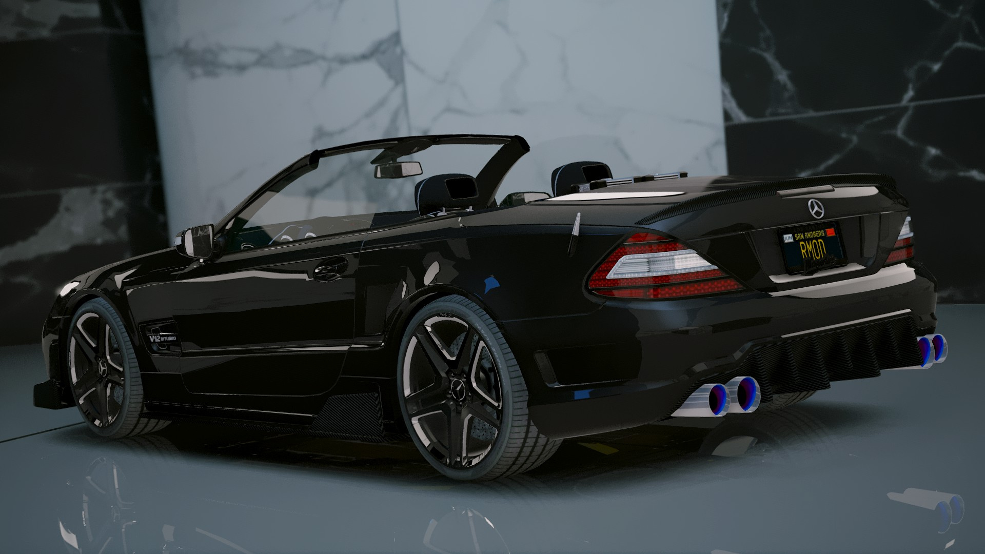 Mercedes benz sl 63 amg add on tuning gta5 for Mercedes benz tuning