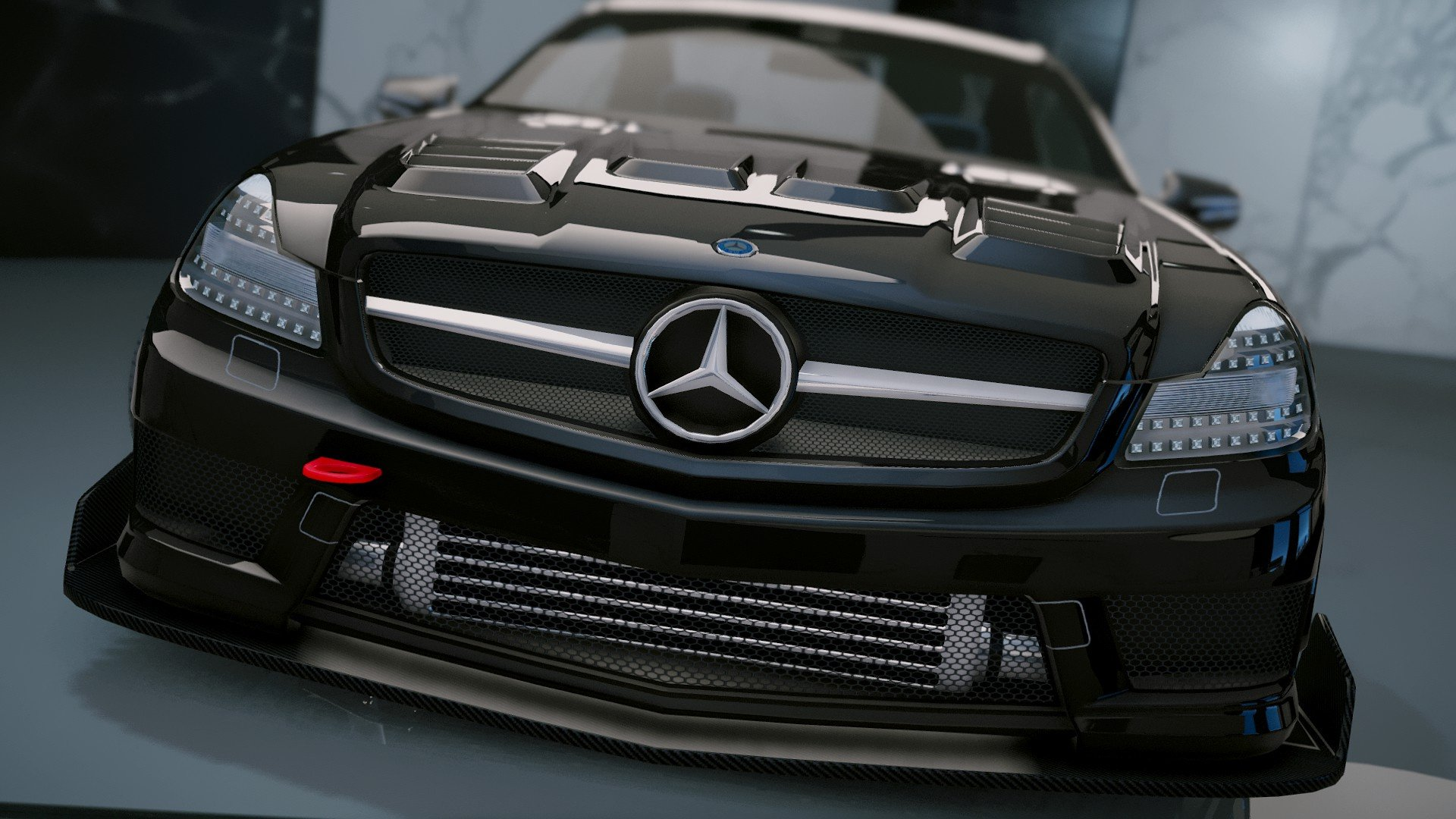 mercedes benz sl 63 amg add on tuning gta5. Black Bedroom Furniture Sets. Home Design Ideas