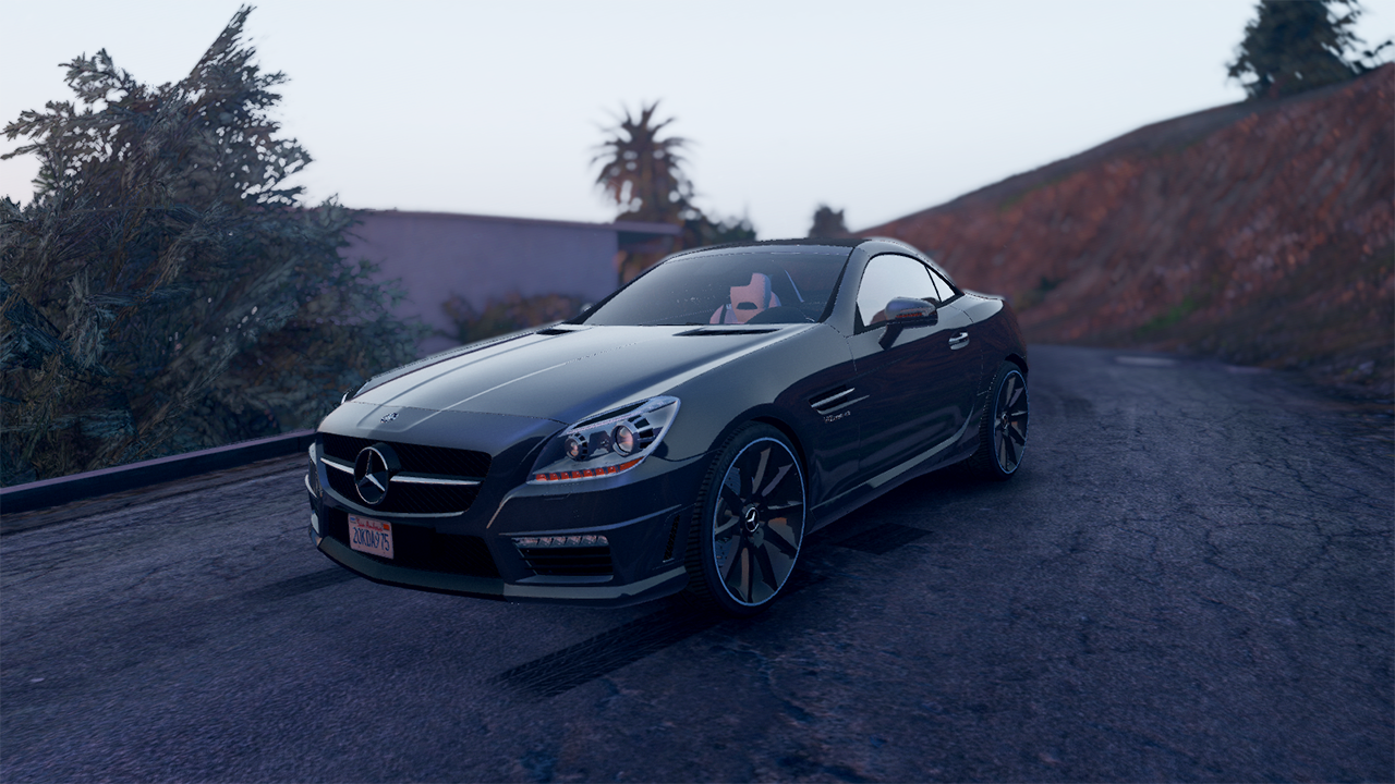 Mercedes benz slk55 amg add on replace gta5 for Mercedes benz add