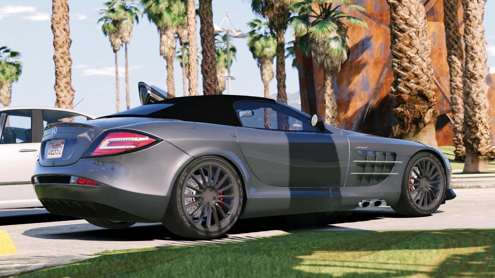 mercedes benz slr 722s roadster mansory add on autovista gta5. Black Bedroom Furniture Sets. Home Design Ideas