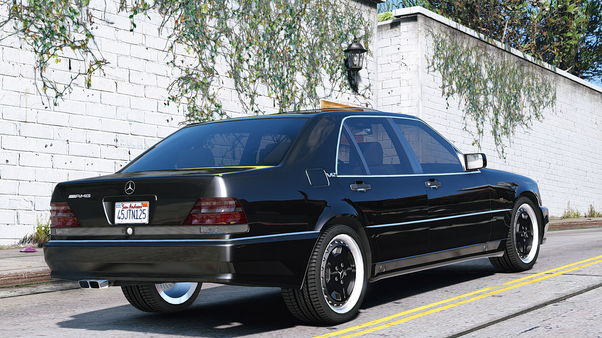 Mercedes benz w140 amg add on replace gta5 for Mercedes benz mercedes benz mercedes benz