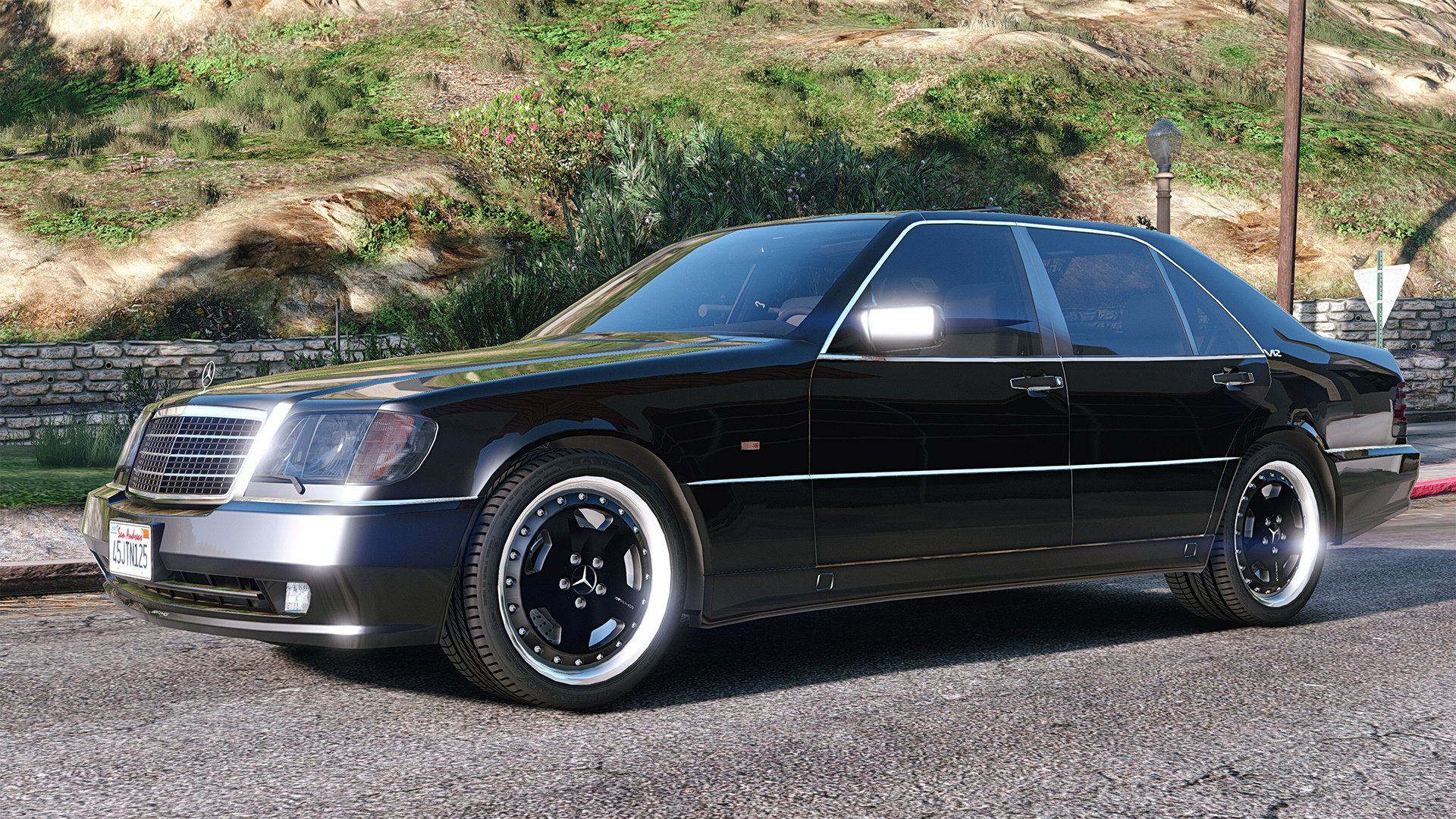 Mercedes benz w140 amg add on replace gta5 for Mercedes benz w140