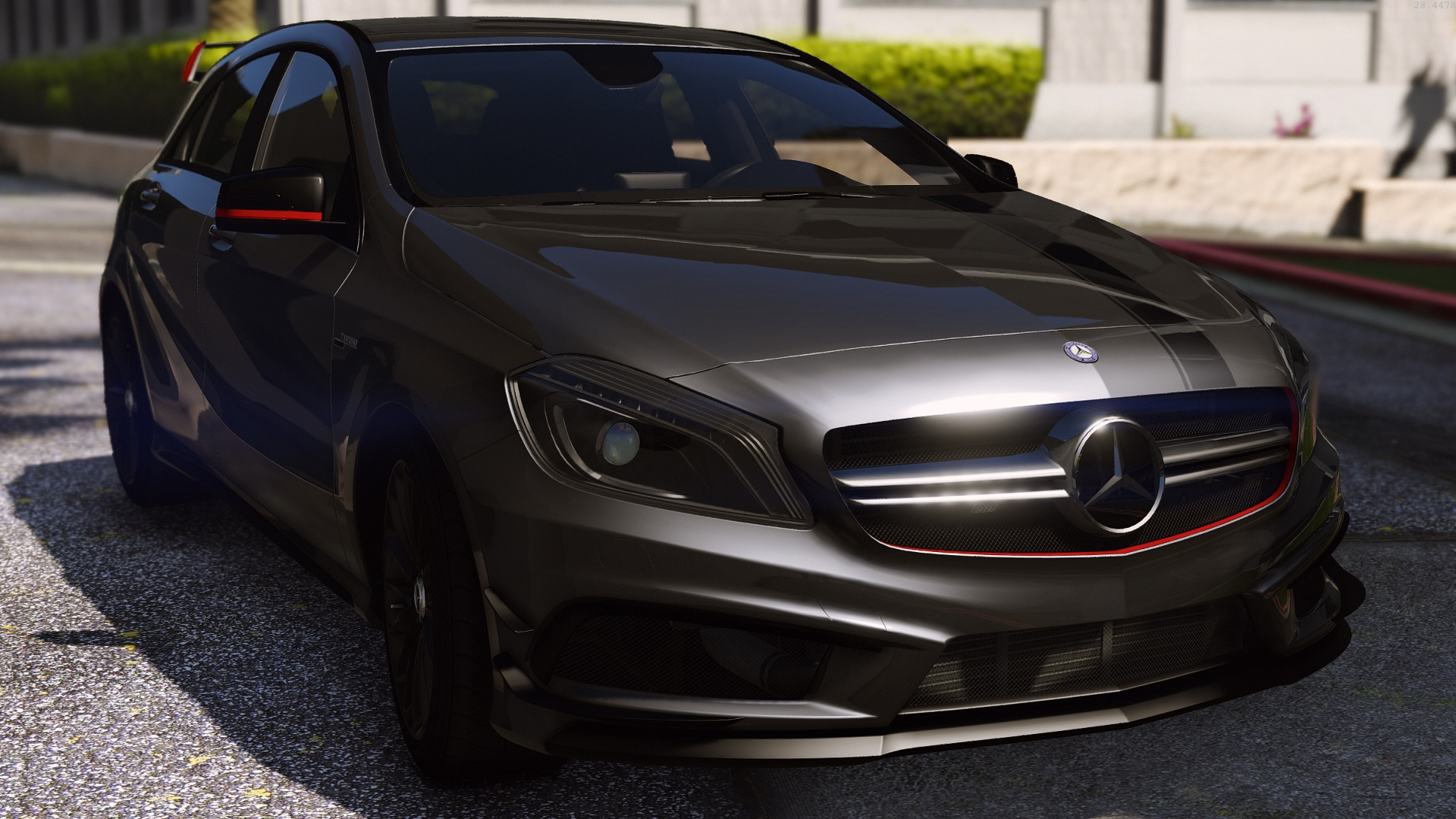 mercedes benz classe a 45 amg edition 1 add on. Black Bedroom Furniture Sets. Home Design Ideas
