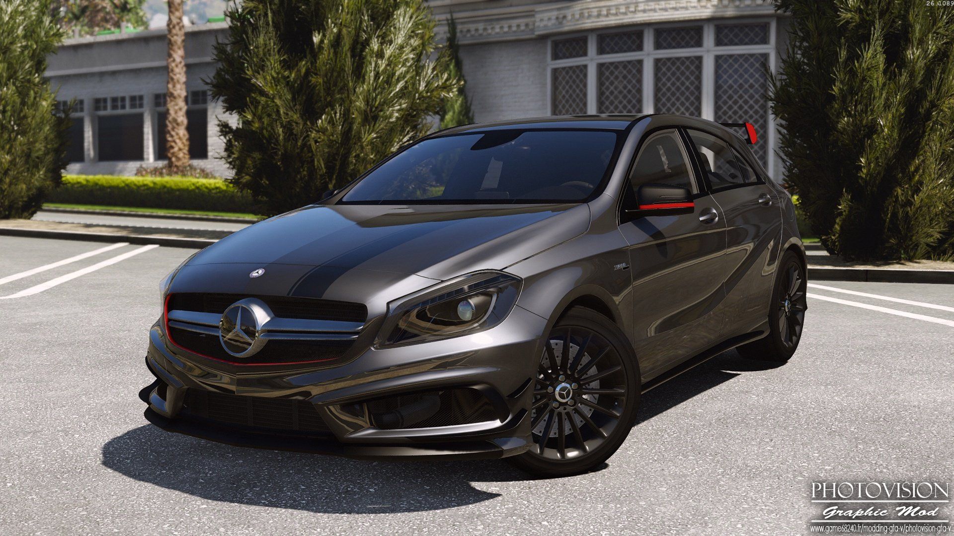 Mercedes-Benz Classe A45 AMG | Edition 1 [Add-On / Replace