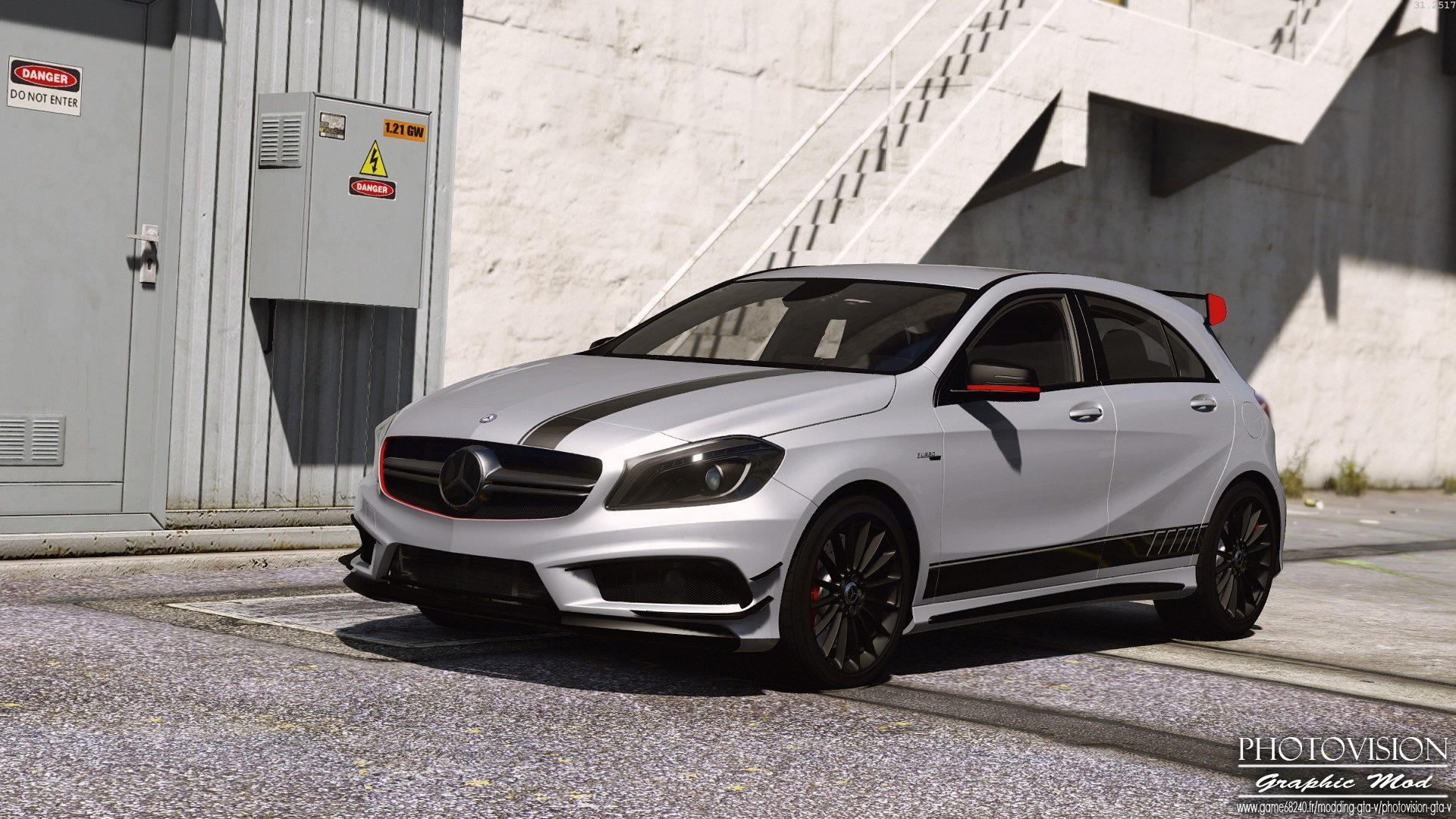 mercedes benz classe a45 amg edition 1 add on replace. Black Bedroom Furniture Sets. Home Design Ideas