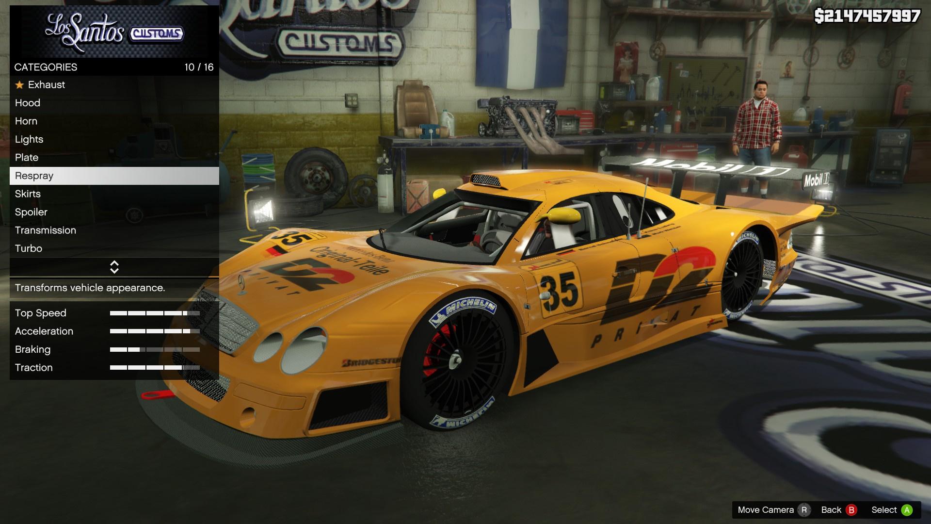 Mercedes Clk Lm Super Race Car Mods Com