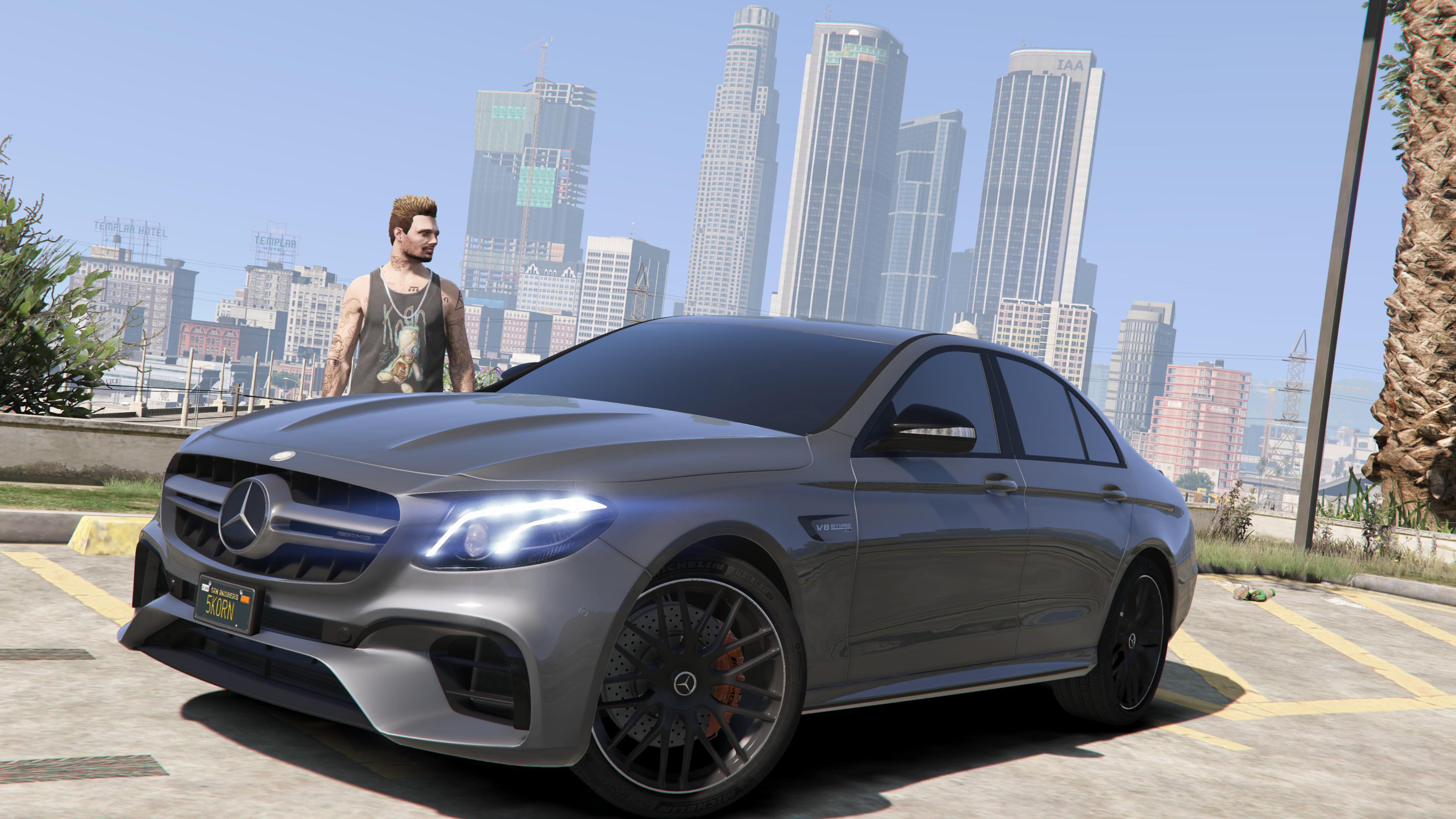 2018 mercedes amg e63s w213 gta5 for Mercedes benz e63s