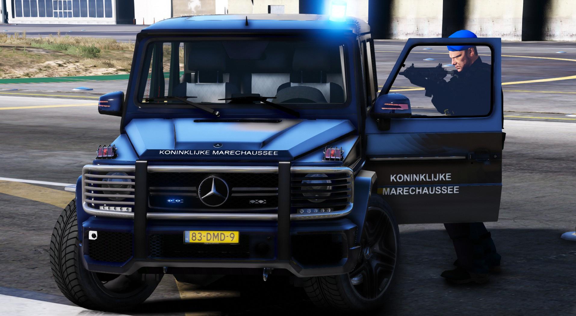 Mercedes G65 Koninklijke Marechaussee Dutch Royal