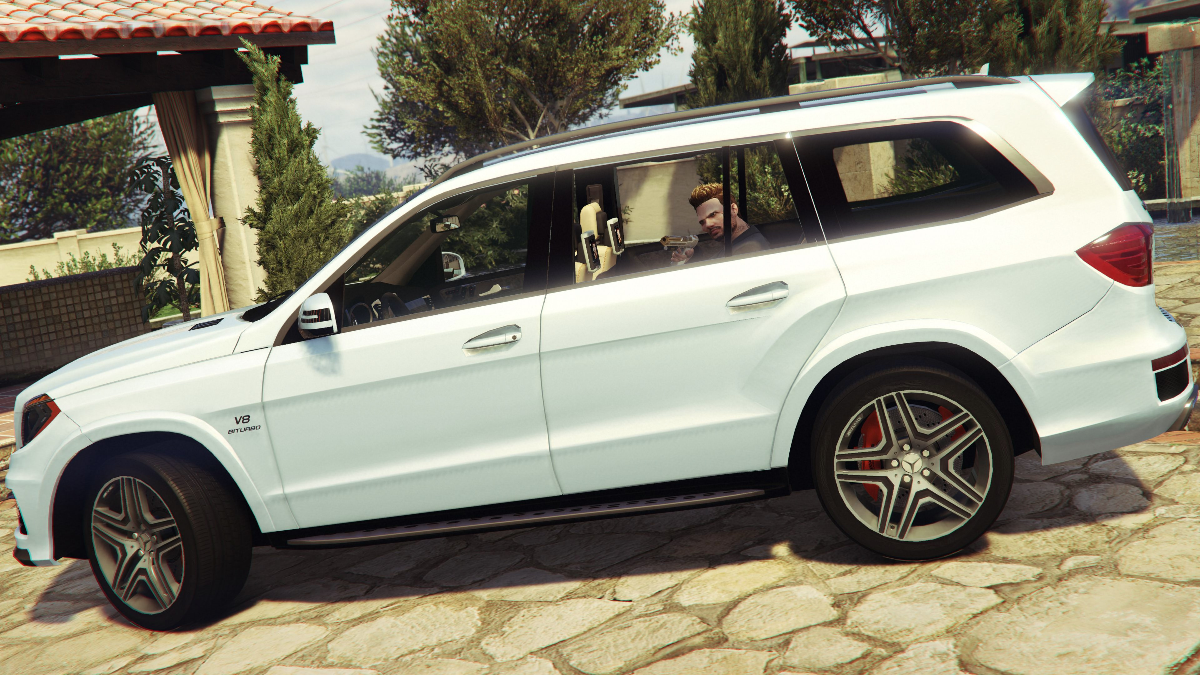 Mercedes benz gl63 amg add on replace gta5 for Mercedes benz add