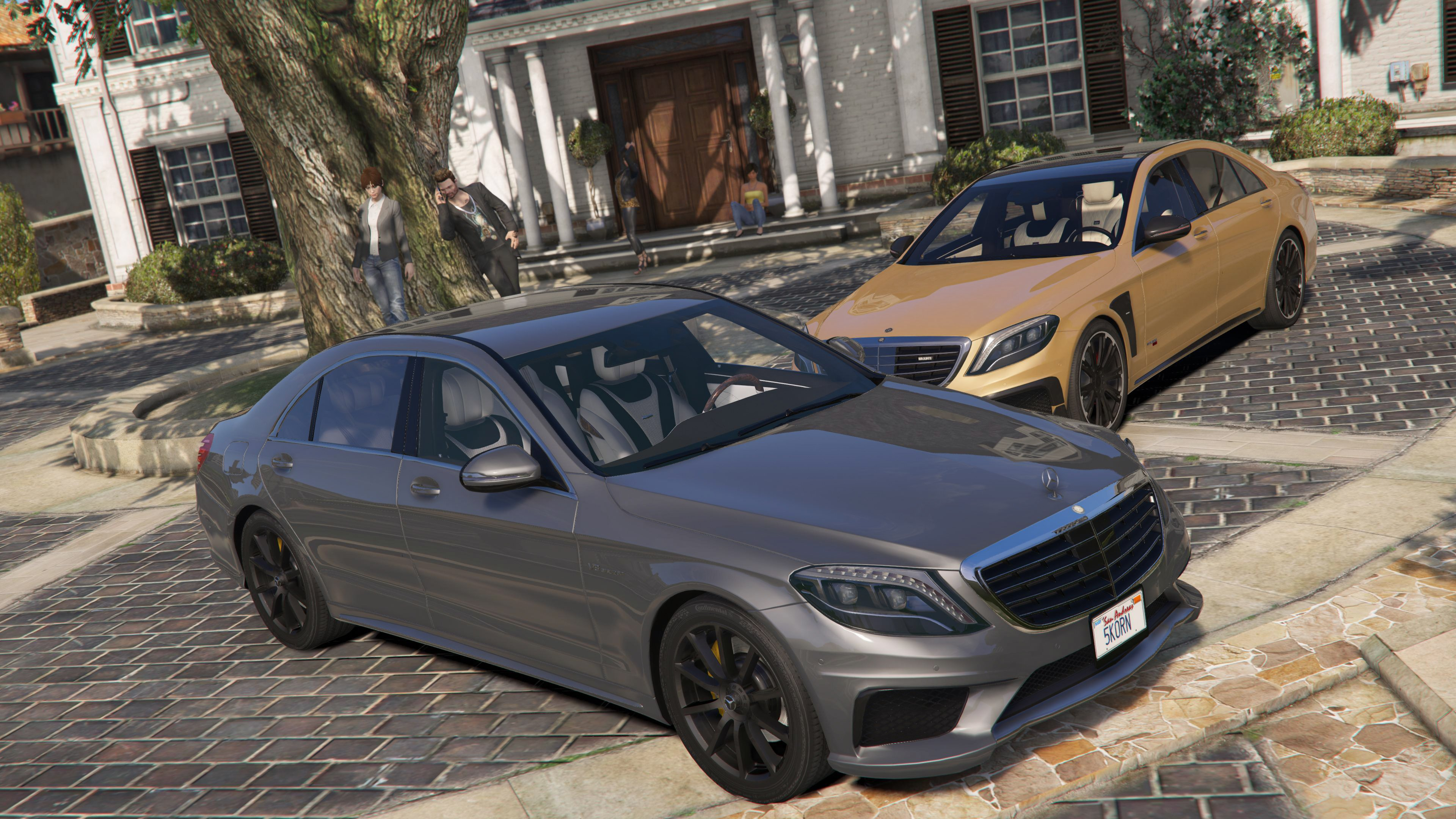 Latest GTA 5 Mods Mercedes Benz GTA5 Mods