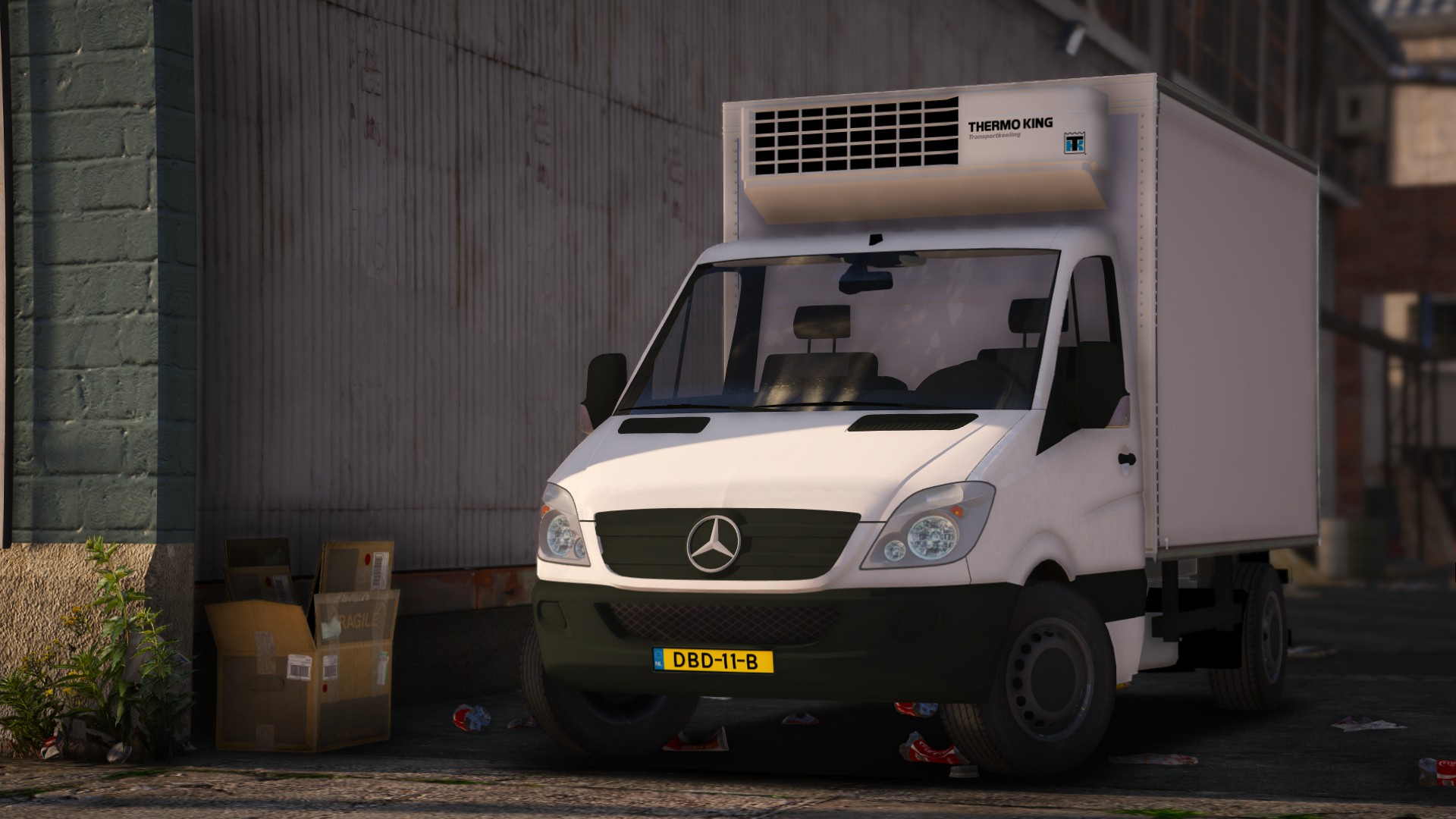 mercedes sprinter unlocked template gta5. Black Bedroom Furniture Sets. Home Design Ideas