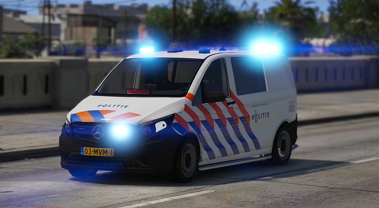 Mercedes Vito 2016 Nederlandse Politie Dutch Police Els