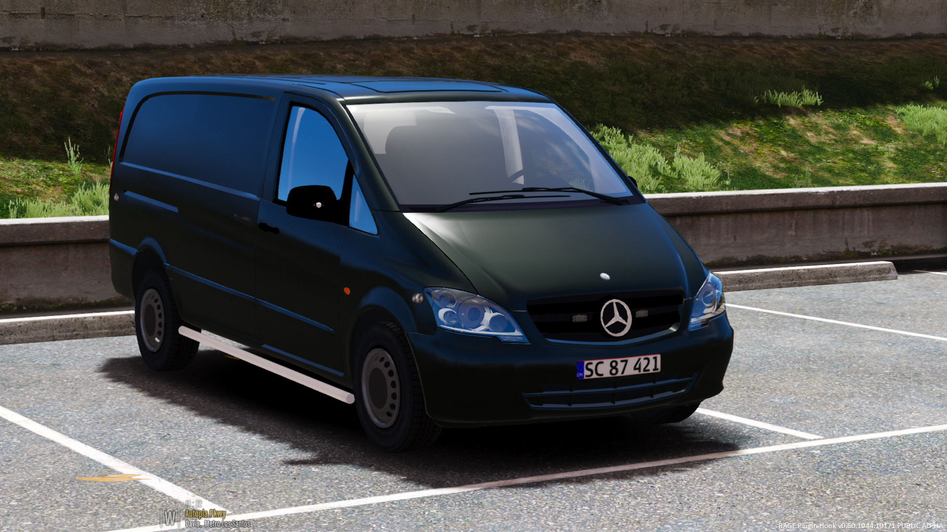 mercedes vito indsatsleder danish police gta5. Black Bedroom Furniture Sets. Home Design Ideas