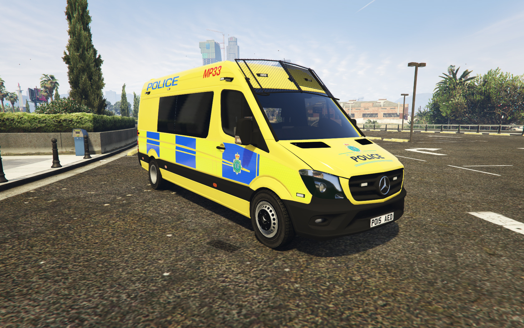 Merseyside Police Public Order Van Skin Gta5 Mods Com