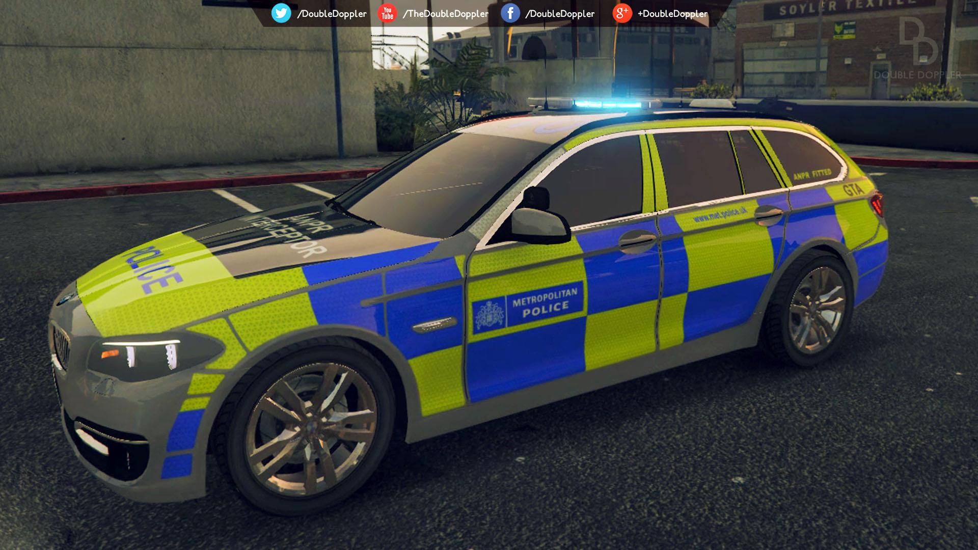 Met Police Bmw 525d F11 Anpr Interceptor Gta5 Mods Com