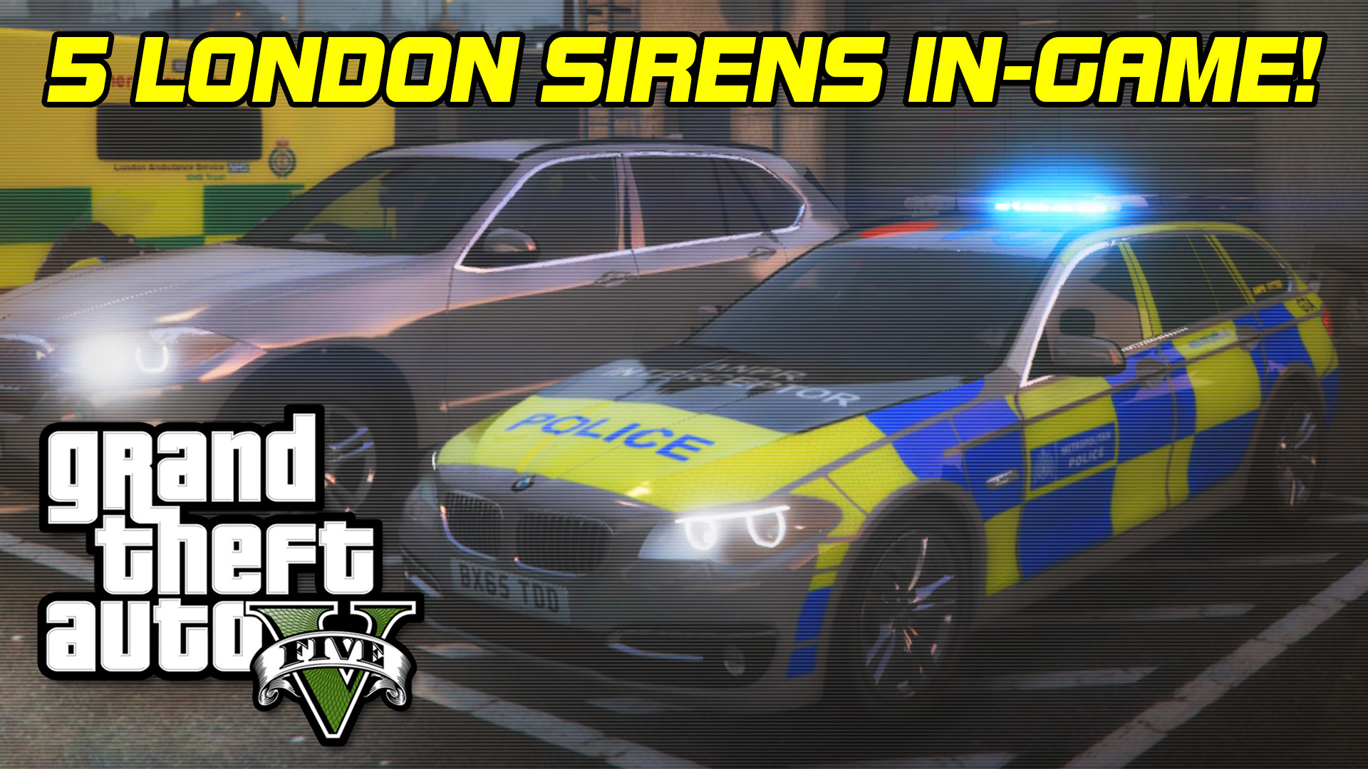 Met Police & London Sirens - GTA5-Mods com