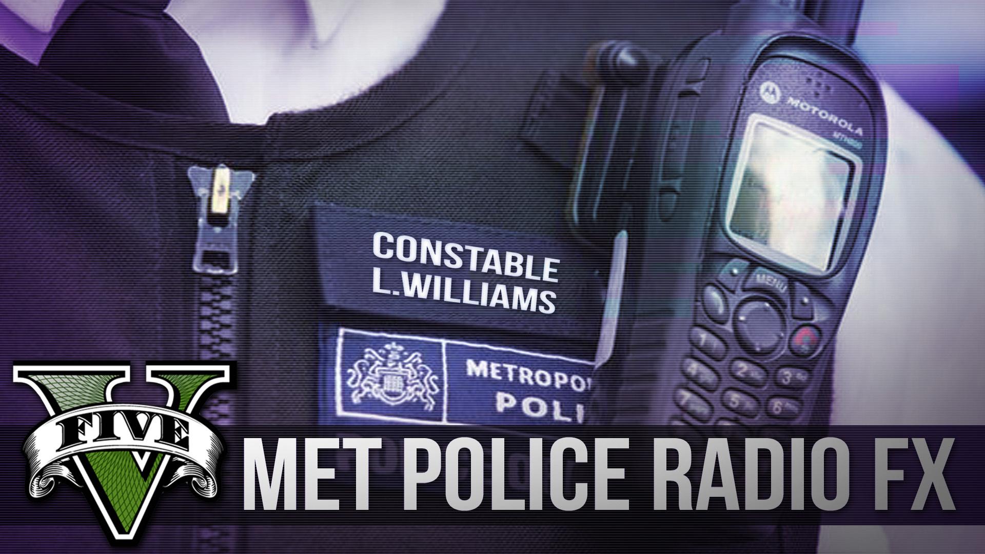 Met Police Motorola/Tetra Radio Dispatch Tones - GTA5-Mods com