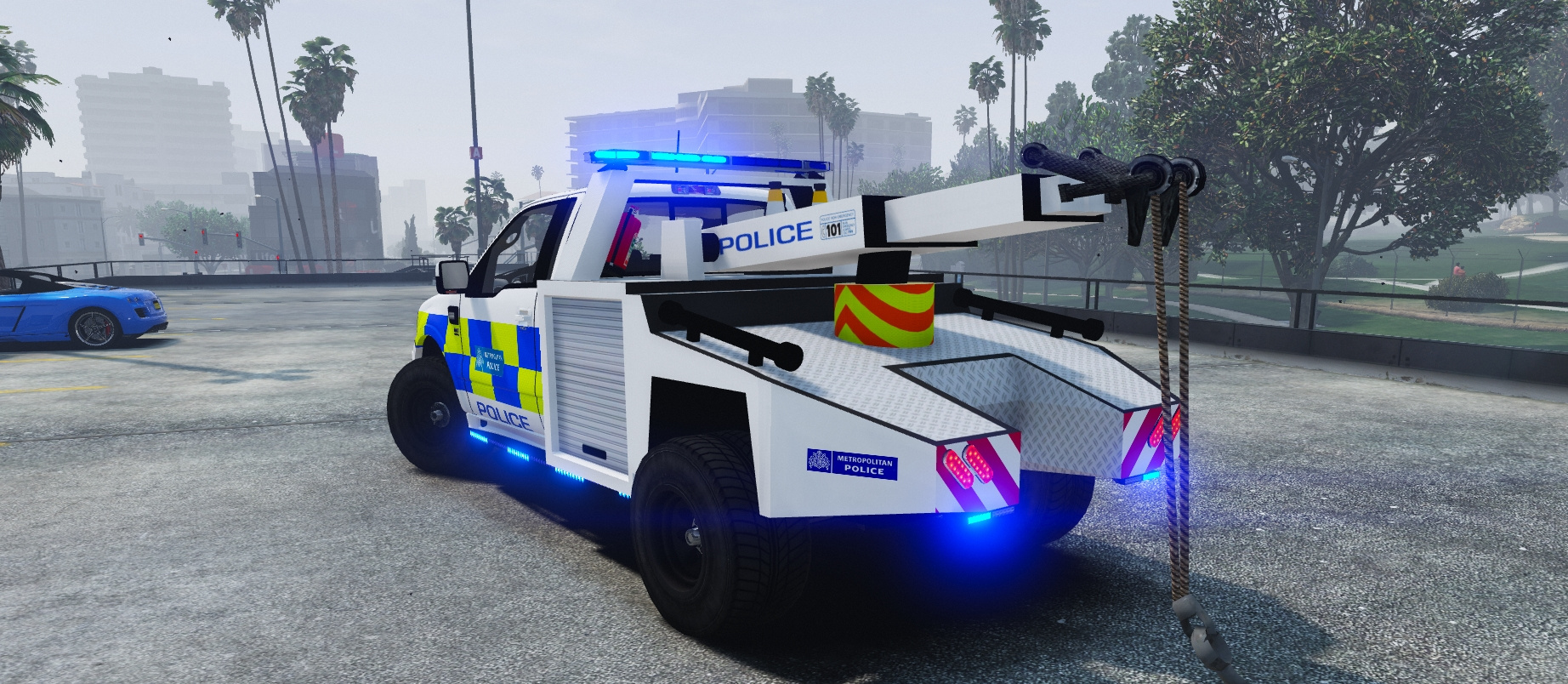 Met Police Tow Truck Ford S331 Gta5 Mods Com