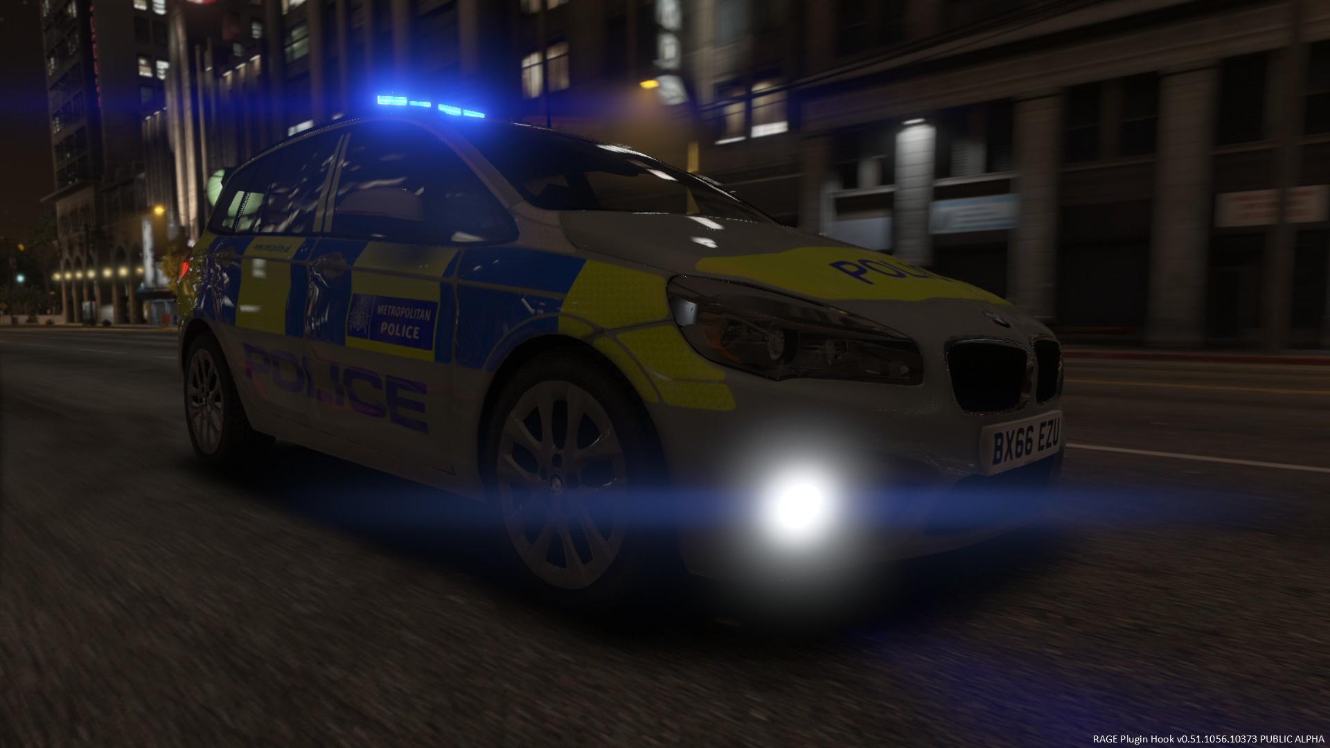 metropolitan police 2017 bmw 2 series grand tourer els