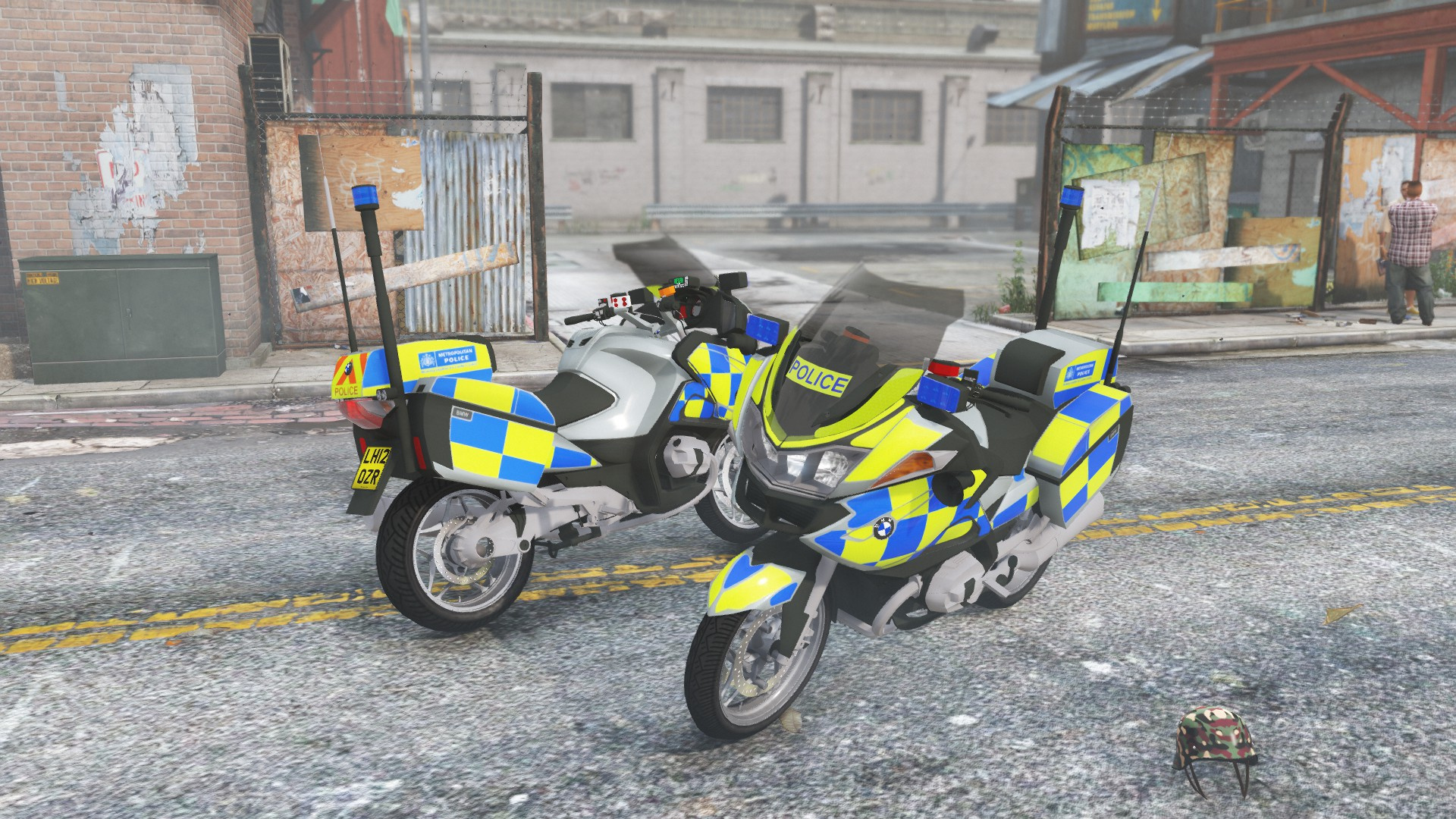 Metropolitan Police Bmw R1200rt Gta5 Mods Com