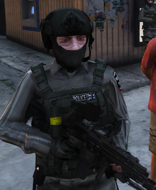 8239e3 c6 & Metropolitan Police British CTSFO (Counter Terrorist Specialist ...