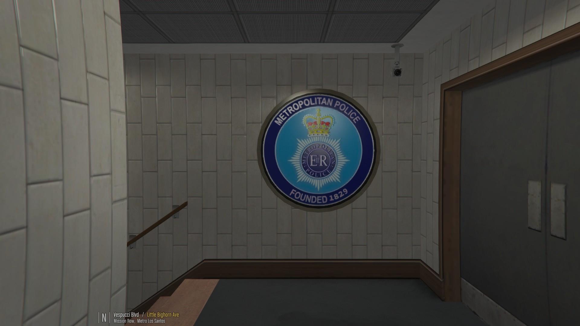 Metropolitan Police Station Mission Row PD  GTA5Modscom