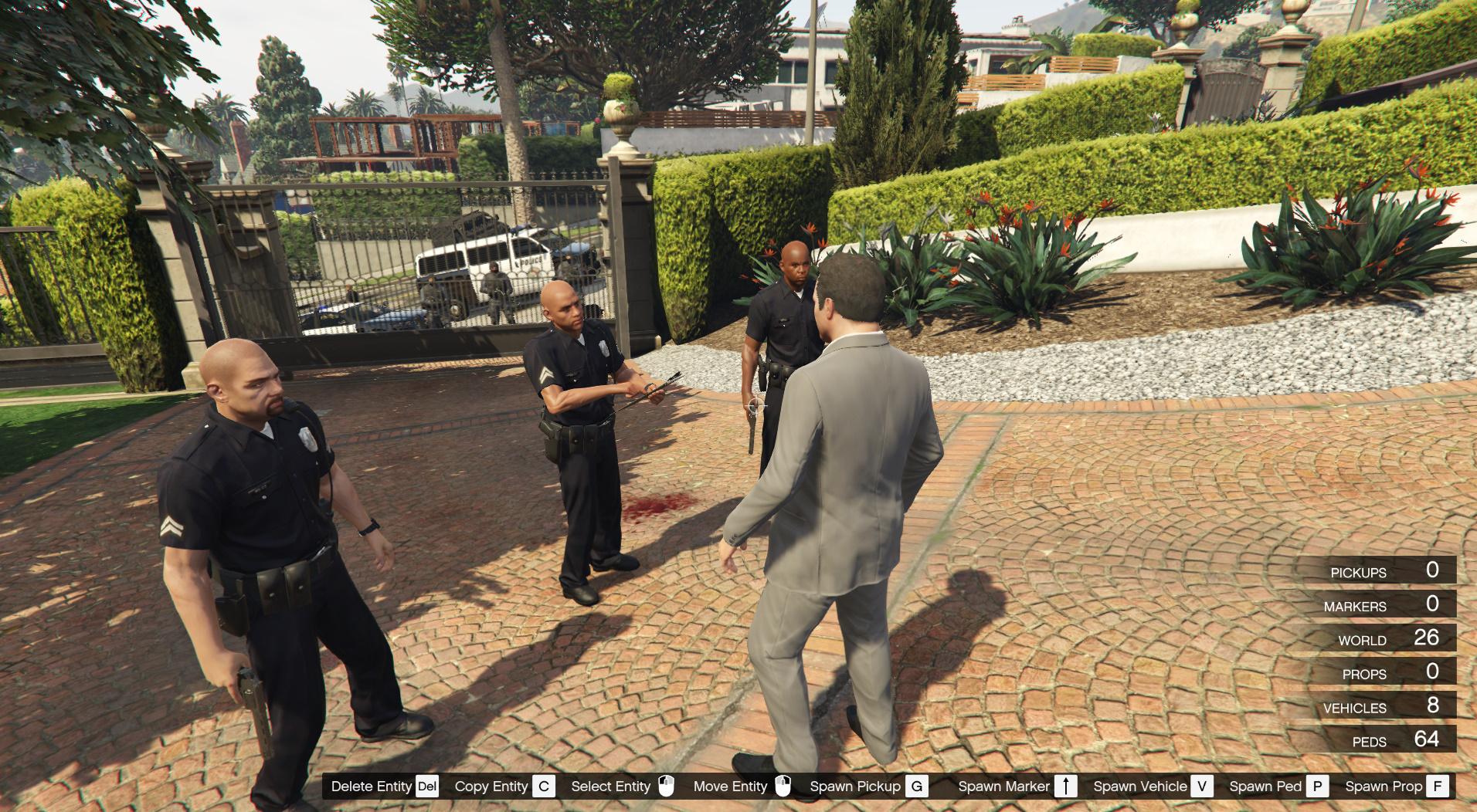Michael's Arrest (Lite) - GTA5-Mods com