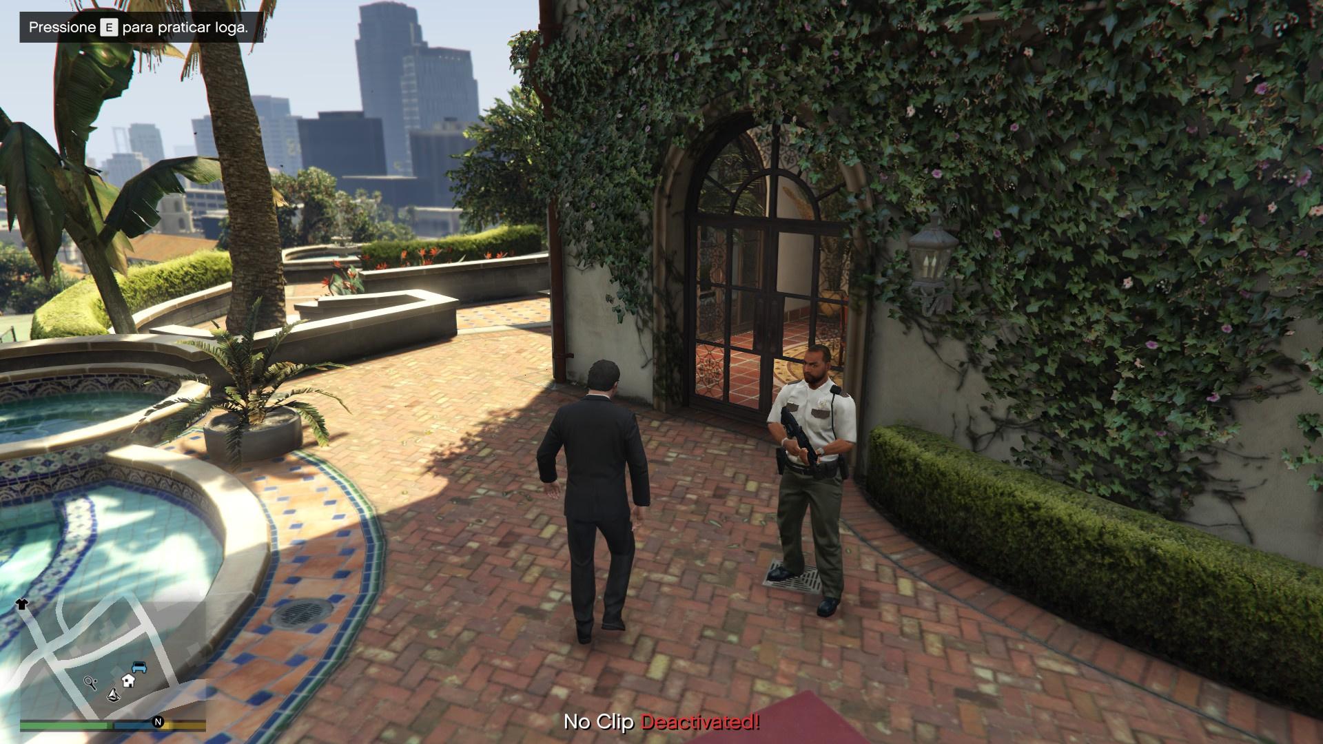 Guards At Michael 39 S House Gta5