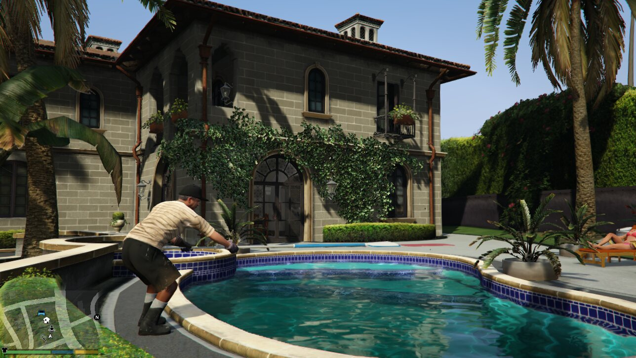 Michael's House Retextured HD - GTA5-Mods com