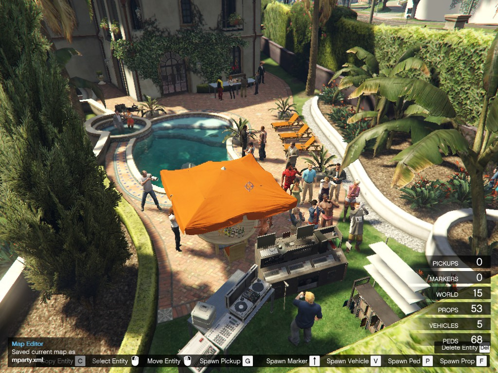 Party At Michael 39 S House Gta5