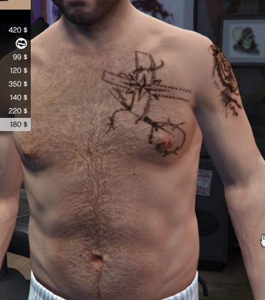 Michael russian mafia tattoo 39 s gta5 for Russian mafia tattoos