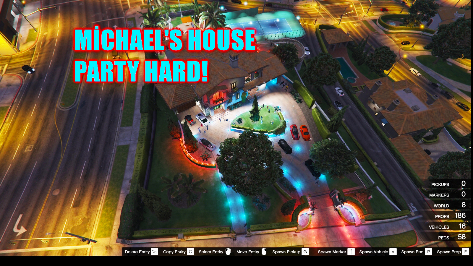 Michaels House Party Hard Gta5 Modscom