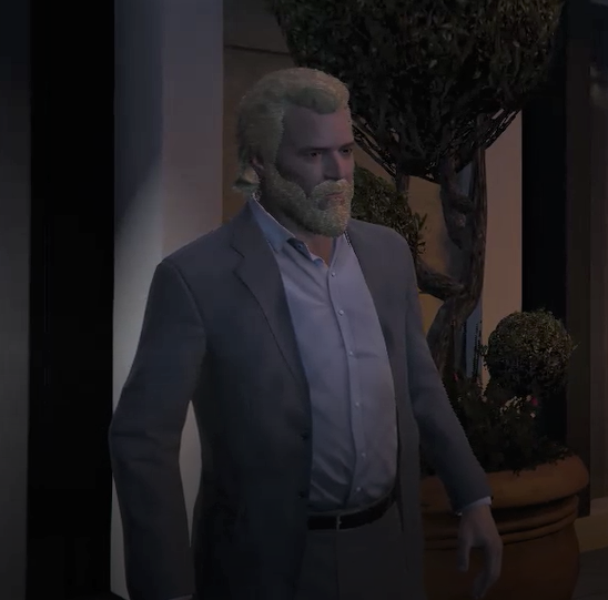 Michael's RedBlonde Hair & Beard - GTA5-Mods.com