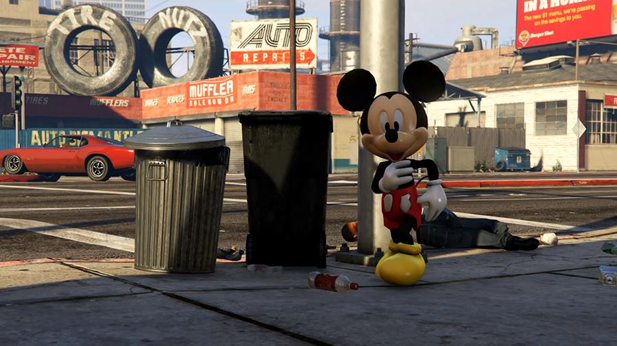 Mickey Mouse [Add-On] - GTA5-Mods com