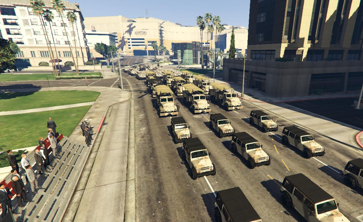 Military Parade Map Editor  GTA5Modscom